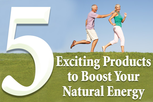 5 Products that Boost Energy Naturally Blog